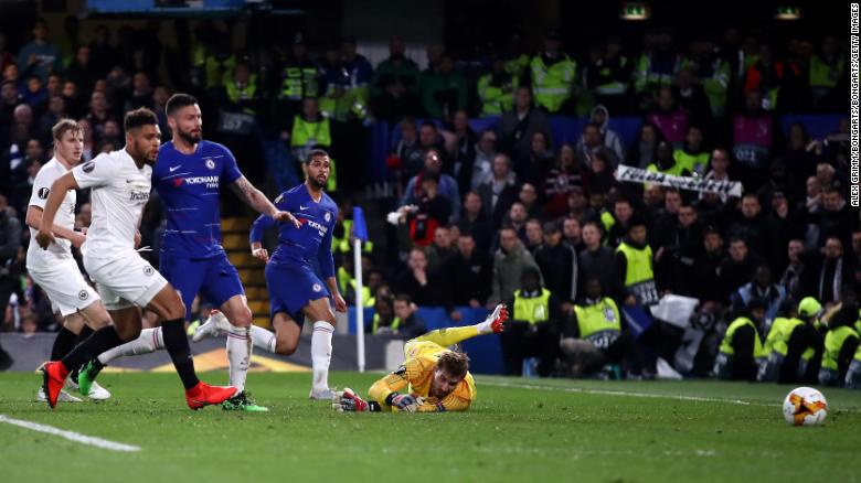 Ruben Loftus-Cheek gave his side the lead at Stamford Bridge.