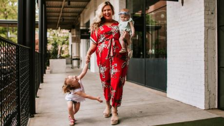 Ashley Dorough started blogging because she was tired of not seeing anoyone that loooked like her.