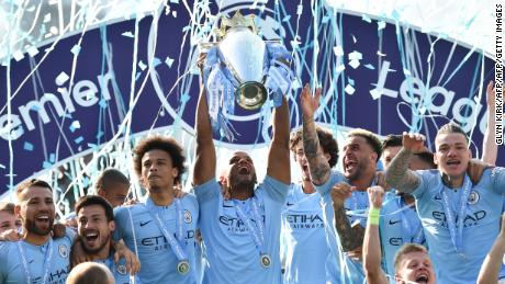 Man City has won consecutive league titles.
