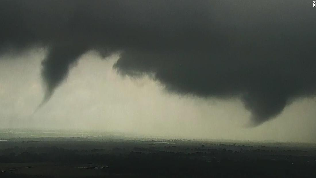 See Tornadoes Forming In Oklahoma Cnn Video