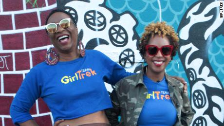 T. Morgan Dixon, left, and Vanessa Garrison founded GirlTrek.