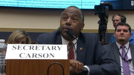 A lawmaker asked Carson about foreclosure properties. He thought she was talking about Oreos.