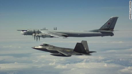 Russia intercepts US aircraft flying over the Mediterranean Sea