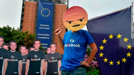 Facebook was flooded with far-right content ahead of the EU election, campaigners say