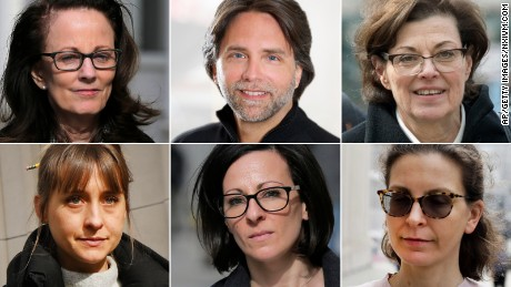 These are the people involved in the scandal around alleged sex cult inside Nxivm
