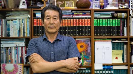 Pastor Chun Ki-Won has been helping North Korean defectors flee for 20 years. He has been nicknamed the Asian Schindler.