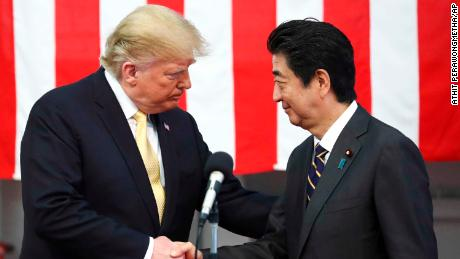 Trump returns from Japan with eye on 2020