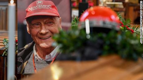 Niki Lauda funeral