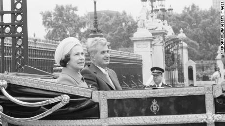 The Queen with Ceausescu in 1978.