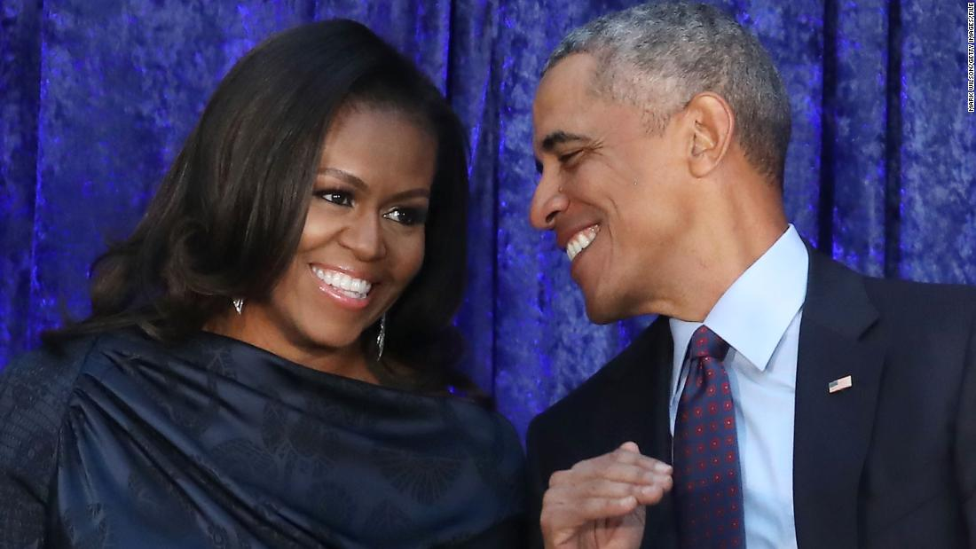Spotify strikes deal with Barack and Michelle Obama to produce exclusive podcasts