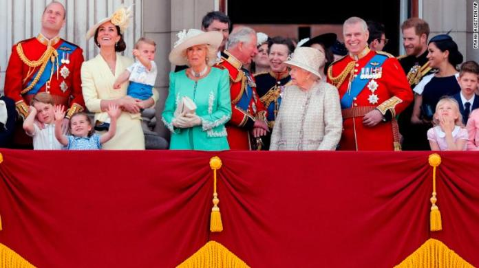Meghan at Trooping the Colour in first royal engagement since ...