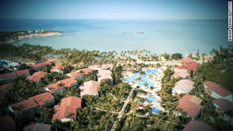 A view of the Grand Bahia Principe La Romana