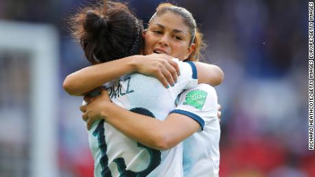 Draw secures Argentina its first point in Women's World Cup history