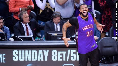 Drake celebrates the Raptors' NBA championship with new music
