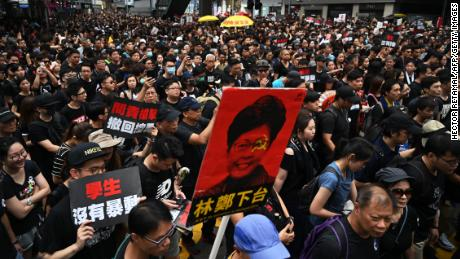 Hong Kong protesters face a powerful enemy