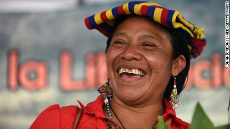 Thelma Cabrera, an indigenous Maya Mam candidate, received over 10% of the vote last Sunday.