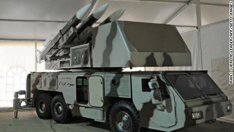 A Khordad-3 air defense system.