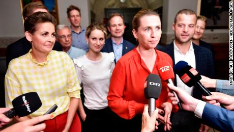 Mette Frederiksen becomes Denmark's youngest-ever prime minister