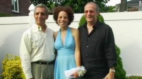 """Hope and her two fathers in an episode of """"True Life."""""""