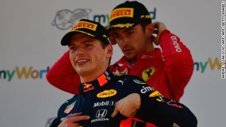 Rising stars: Verstappen and Leclerc could threaten Hamilton's era of dominance