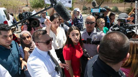 Lawmakers, including Ocasio-Cortez, lash out over conditions following border facility tours