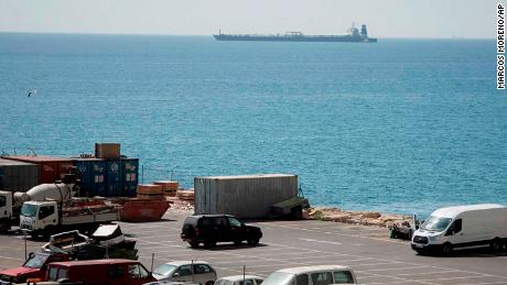 British and Gibraltarian authorities say they believe the tanker was carrying oil to Syria.