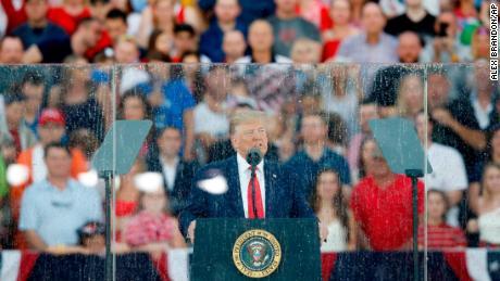 Trump calls bluff of critics in July 4th speech