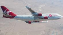Virgin Orbit & # 39; drop tests & # 39; a rocket from a 747 airplane 35,000 feet in the sky