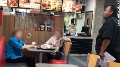 A Burger King manager was told to 'go back to Mexico' for speaking Spanish in a Florida fast food restaurant