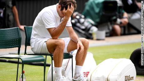 Roger Federer missed out on what would have been his 21st major singles title last month.
