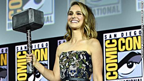Natalie Portman of Marvel Studios' 'Thor: Love and Thunder'