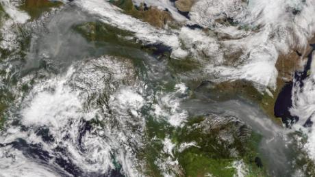 'Unprecedented' wildfires ravage the Arctic