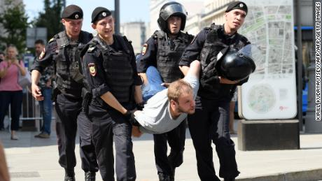 Protesters are taking to the streets in Moscow. The Kremlin is watching to see if others will do the same