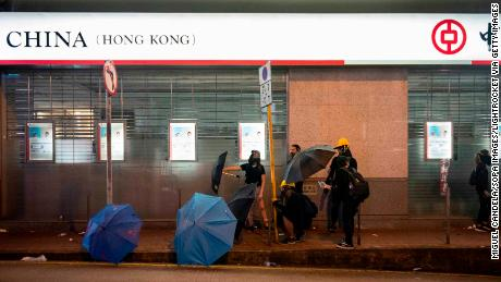 Hong Kong's economy is slumping. Mass protests could make things much worse