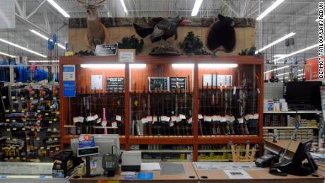 In the wake of latest massacres, Walmart is pressured to stop selling guns