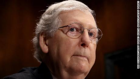 McConnell won't bring Senate back early but says background checks and red flag laws up for discussion