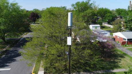 A Verizon 5G small cell in Indianapolis.