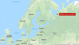 Five Russian nuclear agency workers killed in a blast while testing 'jet propulsion system'