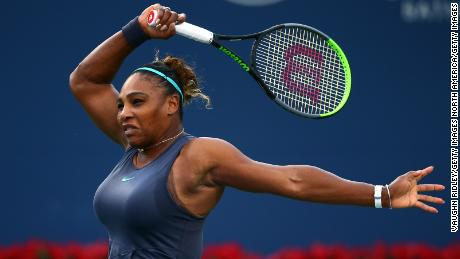 Williams defeated Osaka in straight sets at the Rogers Cup.
