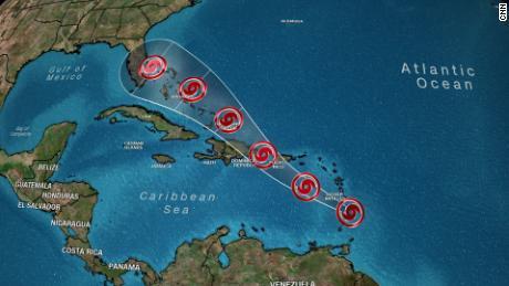 Dorian could reach Florida as a hurricane this weekend
