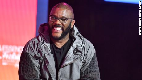 Tyler Perry speaks on stage at 2019 ESSENCE Festival Presented By Coca-Cola at Ernest N. Morial Convention Center on July 07, 2019 in New Orleans, Louisiana.