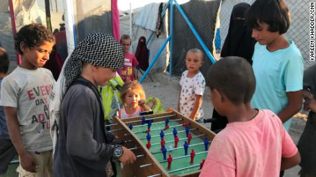 Some of al-Hol's women are raising their kids to conform with ISIS' ideals, while others are trying desperately to keep their kids away from the camp.