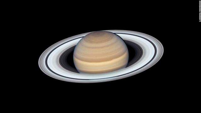 The Hubble Space Telescope's Wide Field Camera  observed Saturn in June as the planet made its closest approach to Earth this year, at approximately 1.36 billion kilometers away.