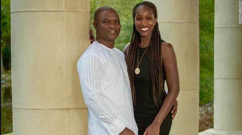 Dr Sulaiman and his wife, nurse Patricia Sulaiman.