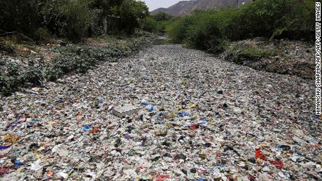 The study says that despite efforts to cut waste, the world will have 710M tonnes of plastic pollution by 2040