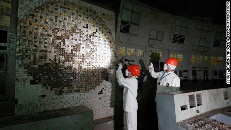 Chernobyl control room now open to visitors -- but only wearing a hazmat suit