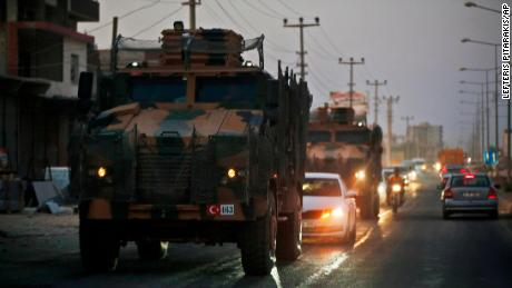Pentagon says US forces came under Turkish artillery fire in Syria
