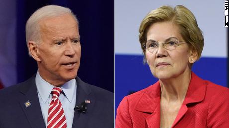 Joe Biden sharpens his attacks on Elizabeth Warren