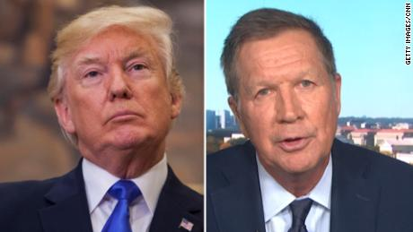 John Kasich, former governor of the Republican Ohio, says he is now impeacher for Trump