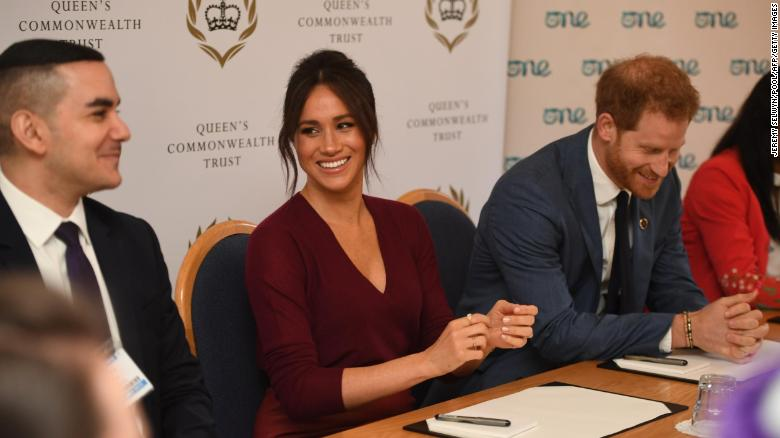 It was business as usual for the Sussexes, who participated in a roundtable discussion on gender equality with The Queens Commonwealth Trust and One Young World at Windsor Castle on Friday.